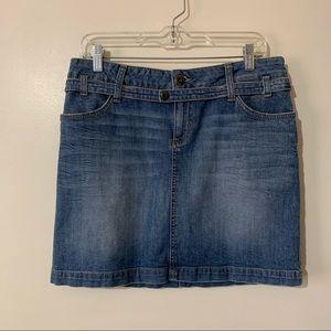 S. Oliver Blue Jean Denim Skirt